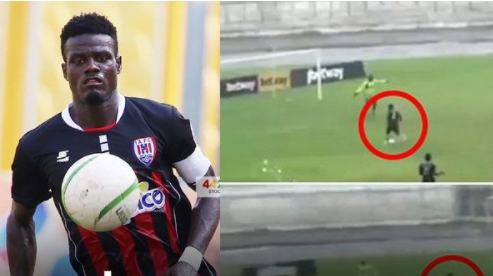 """""""Ghana League footballers"""" hope to stop the lock effect. In the end, he was charged with falling down the ball himself"""